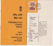 Stamped Info., Dessau / Germany Born Max Muller 1974, Writer, Sanskrit Language Hinduism Scholar, Indology, Religion - Otros