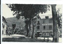 Ax Les Thermes Hotel Bellevue Route De Chioula , Cpsm Taille Cpa 9x14 - Ax Les Thermes