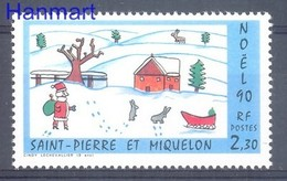 St. Pierre & Miquelon 1990 Mi 607 MNH ( ZS1 SPM607 ) - St.Pierre Et Miquelon