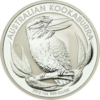 Monnaie, Australie, Elizabeth II, Dollar, 2012, Perth, Proof, FDC, Argent - Dollar