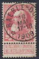 "Grosse Barbe - N°74 Obl Relais ""Baerle-duc"". TB - 1905 Barbas Largas"