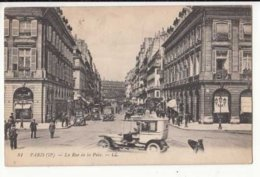 CPA France Paris II - La Rue De La Paix  - Achat Immédiat  (cd005) - District 02
