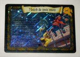 E01 / HOLO N° 28/80 MATCH DE TROIS MOIS HARRY POTTER Carte TCG -WIZARDS 2002 - Harry Potter
