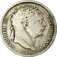 Monnaie, Grande-Bretagne, George III, 6 Pence, 1817, TB, Argent, KM:665 - 1816-1901: 19. Jh.