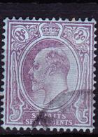 Malaiische Staaten I - Straits Settlements - König Edward VII. (MiNr: 95) 1904 - Gest Used Obl - Straits Settlements