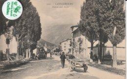 73 - Très Belle Carte Postale Ancienne De Lanslebourg   Etrée Coté Italie - Francia