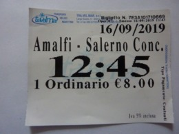 "Biglietto ""TRAVELMAR AMALFI - SALERNO"" - Europa"