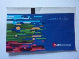 """Biglietto """"METRO VALENCIA"""" - Subway"""