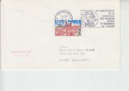 FRANCIA 1977 - Annullo Speciale - Conference Des Pouvoirs Locaux De L'Europe - Idee Europee