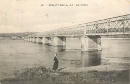 CPA 44 Loire Atlantique Inférieure Mauves-sur-Loire Le Pont De Fer - Mauves-sur-Loire