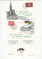 FRANCIA-GERMANIA 1964 - La  Philatelie Au Service De L'Europe - Die Philatelie Inìm Dienste Europas - Idee Europee