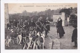 CP 78 RAMBOUILLET Chasses à Courre Mme La Duchesse D'Uzes - Rambouillet (Castillo)