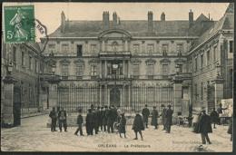CP 45 Orleans - Le Préfecture 1909 - Orleans
