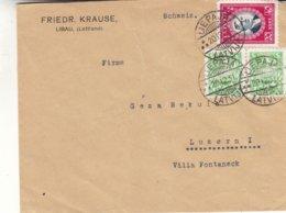 Lettonie - Lettre De 1931 - Oblit Liepaja - Exp Vers Luzern - Dernier Jour Emploi Tarif 50 C - Lettonie