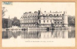CPA Chateau De Rambouillet, Vu Des Iles, Gel. 1904 - Rambouillet (Château)