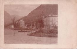 Seltene ALTE  Foto- AK   LUGANO / Schweiz  -  Teilansicht -  1910 Ca. - TI Tessin