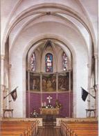 AK-div.31- 802     Illingen - Hüttigweiler - Kath Pfarrkirche  Maria Magdalena - Innenansicht - Kreis Neunkirchen