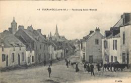 CPA 44 Loire Atlantique Inférieure Guérande Faubourg Saint Michel St Non Voyagée - Guérande