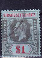 Malaiische Staaten I - Straits Settlements - König Georg V. (MiNr: 171) 1922 - Gest Used Obl - Straits Settlements