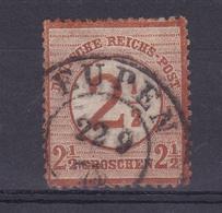 Adler Mit Großem Schild 2½ Auf 2½ Gr. Mit K2 EUPEN  22.9.75 - Germany
