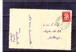 Lettonie - Carte Postale De 1940 - Oblit Bolderaj - Exp Vers Bolderaja - Voir Cachet Rectangulaire - Lettonie