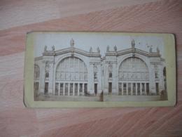 Photo Stereo Gare Du Nord Paris  Photographie Stereoscopique - Fotos Estereoscópicas