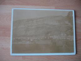 Photo 1898 Nantua Vue Generale Photographie Ancienne - Plaatsen