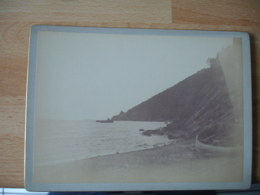 Photo  1893 L Esterel A Theoule   Photographie Ancienne - Lugares