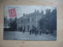 Saulieu 1905 La Gare Attelage - Saulieu