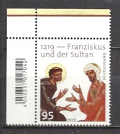 Deutschland / Germany / Allemagne 2019 3498 ** Franziskus Und Der Sultan (10.10.19) - Unused Stamps