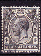 Malaiische Staaten I - Straits Settlements - König Georg V. (MiNr: 157) 1919 - Gest Used Obl - Straits Settlements