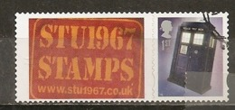 Grande-Bretagne Great Britain Police Box 1st With Label Obl - 1952-.... (Elizabeth II)