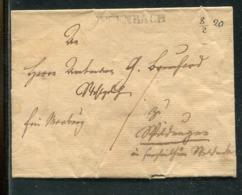Thurn Und Taxis / 1820 / Vorphila-Briefhuelle L1 OFFENBACH (Fe. 2609-1) (0137) - [1] ...-1849 Préphilatélie