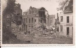CAMBRAI CARTE PHOTO SECONDE GUERRE MONDIALE - Cambrai