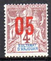 Col17  Colonie Anjouan N° 21 Neuf XX MNH Cote 3,20€ - Neufs