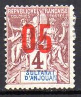 Col17  Colonie Anjouan N° 21 Neuf X MH Cote 1,80€ - Ongebruikt