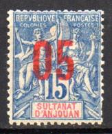 Col17  Colonie Anjouan N° 22 Neuf X MH Cote 1,80€ - Ongebruikt