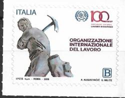 2019 Italien Mi. 4124**MNH   100 Jahre Internationale Arbeitsorganisation (ILO) - 2011-...:  Nuovi