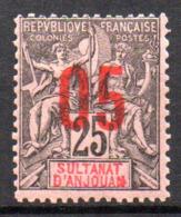 Col17  Colonie Anjouan N° 24 Neuf XX MNH Cote 3,20€ - Anjouan (1892-1912)