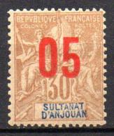 Col17  Colonie Anjouan N° 25 Neuf XX MNH Cote 4,50€ - Ongebruikt
