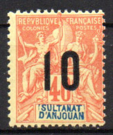 Col17  Colonie Anjouan N° 26 Neuf XX MNH Cote 4,50€ - Neufs