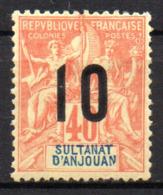 Col17  Colonie Anjouan N° 26 Neuf X MH Cote 2,50€ - Ongebruikt