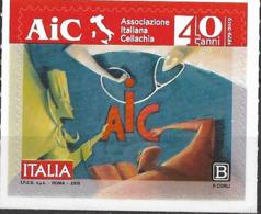 2019 Italien Mi. 4130**MNH  40 Jahre Italienische Zöliakie-Vereinigung (AIC). - 6. 1946-.. Republik
