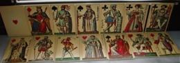 2 MAZZI DI CARTE DISEGNATE DA HOUBIGANT PER IL MATRIMONIO DEL DUCA DI BERRY CON MARIA CAROLINA DI NAPOLI 1816 - Carte Da Gioco
