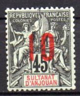 Col17  Colonie Anjouan N° 27 Neuf XX MNH Cote 4,50€ - Ongebruikt