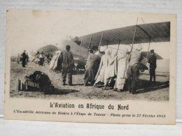 Aviation En Afrique Du Nord. 1913 - ....-1914: Precursors
