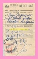 RECEPISSE PTT  Poste De Saint Cast(22) - Francia