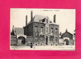 59 Nord, HAUSSY, La Mairie, Animée, (L. Prudhommeaux) - France