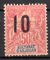 Col17  Colonie Anjouan N° 28 Neuf X MH Cote 7,00€ - Neufs