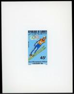 Olympic Games 1988 , Djibouti - Zegel Deluxe Postfris - Winter 1988: Calgary
